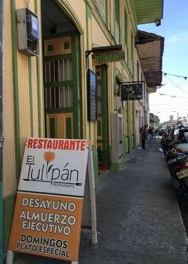 Se vende restaurante bar  acreditado en Calarca - Quindío