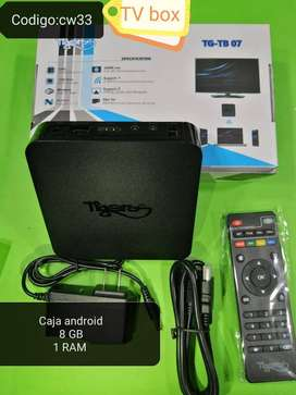 Tv box, caja android