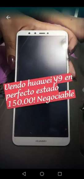 Vendo Y9 en 150 negociable