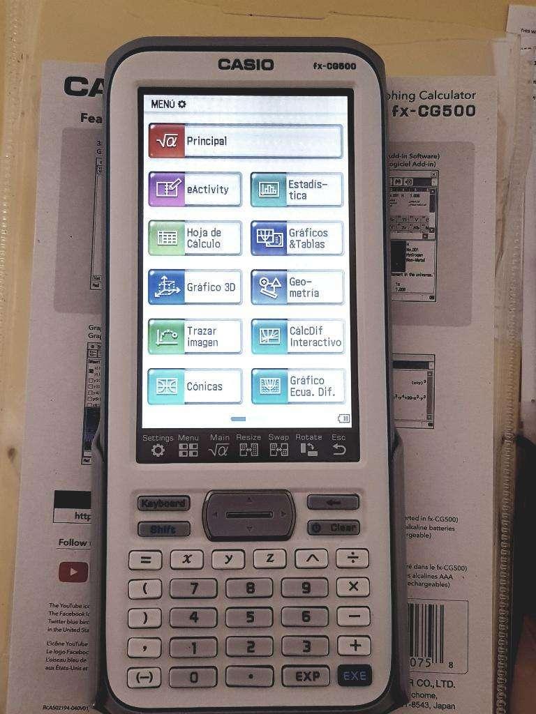 Calculadora Casio 0