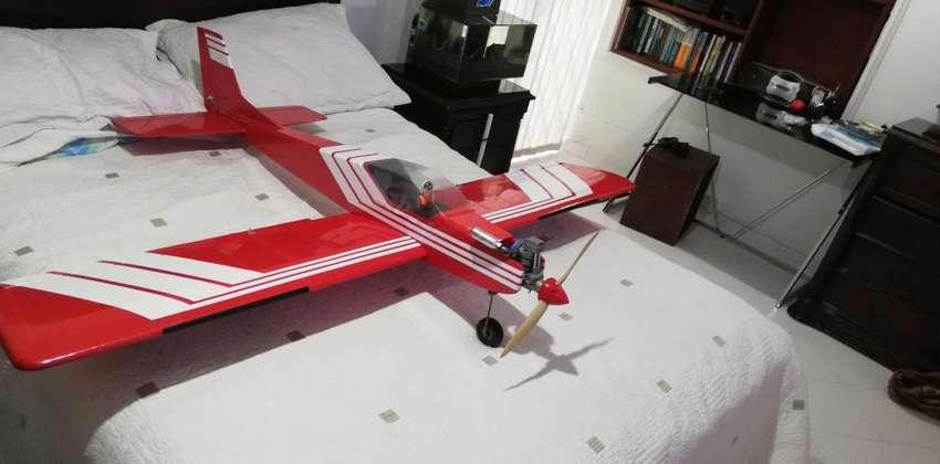 Avión Tigger 2 Motor Asp 61 Fs 4 Tiempos 0