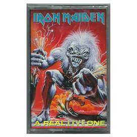 Iron Maiden A Real Live One Cassette