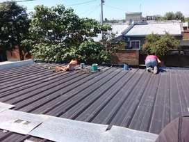 Reparación de techos filtraciones gotera