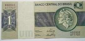 BILLETE DE 1 CRUZEIRO BRASIL
