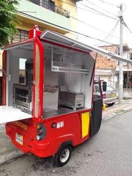 FOOD TRUCK, HORNO PANADERO Y PIZZERO, FREIDORA