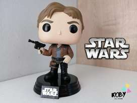 Han Solo de Star Wars  - Funko Pop en  Koby All Store #StarWars #HanSolo
