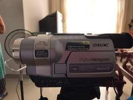 Se vende cámara Sony Digital8 700x precio negociable