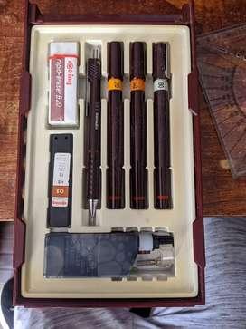 Set estilográfos Rotring isograph
