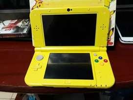 Vendo New 3ds xl Pikachu edition