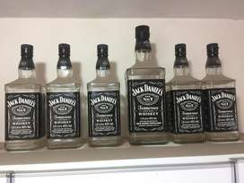 Vendo botellas Jack Danields Nr7 de litro, Single Barrel de 750cc