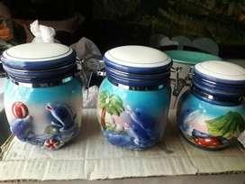 Set delfines guardatodo decoración