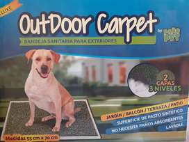 Alfombra sanitaria para mascotas