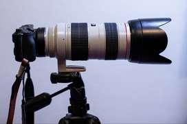 Lente Teleobjetivo Canon 70 - 200 Mm F2.8 Usm Versión 1 - No Estabilizado- 70 200 Mm