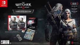 The Witcher 3 Wild Hunt Switch Complete Edition Nuevo y Sellado