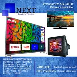 Reparacion TV color, LCD, LED, SMART - Presupuestos sin cargo