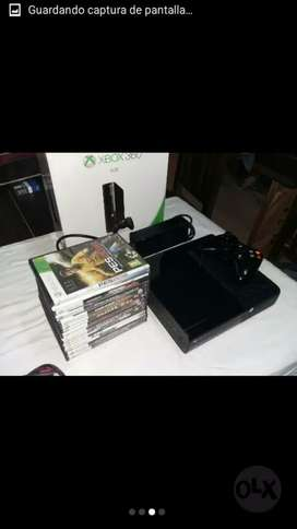 Vendo xbox 360 impecable