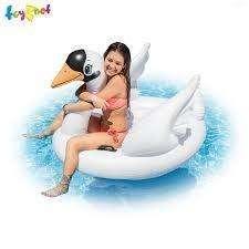 Flotador Cisne Gigante Para Piscina 0