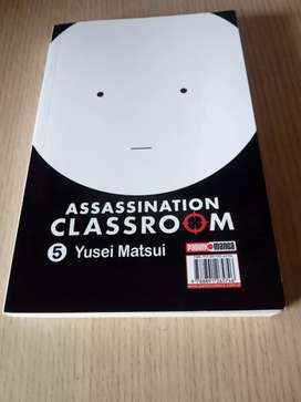 Assassination Classroom - Manga - Tomo 5