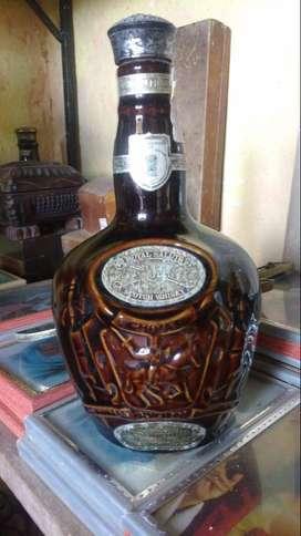 Botella Vacia Scoth Whisky Chivas Brothers Porcelana Ltda 750 Ml 21 años