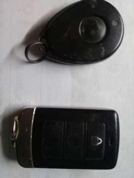 Control remoto de alarma Z 28  modelo Z 20 y control de presencia