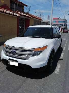 Ford Explorer 2013 3.5L 4x2 Único dueño Flamante toda Prueba