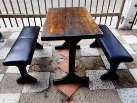 12 juegos de mesas en madera