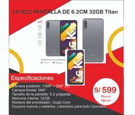 Celular Lg K22 13MP 32GB