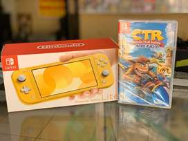 Nintendo switch lite nueva