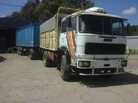 camion fiat 619 de 8 marchas con acoplado marca lamopi año 1979