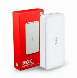 Cargador portátil celular carga rápida inalámbrico xiaomi 20000mAh Precio negociable100