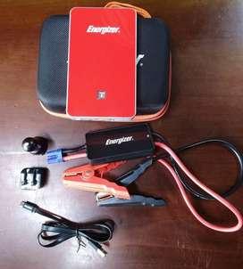 Espectacular iniciador de batería, marca Energizer