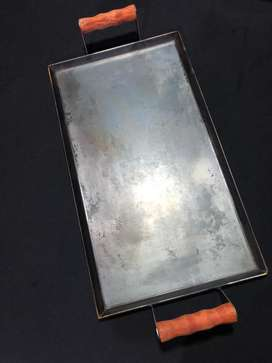 Plancheta plancha Bifera 50x30 cmt 3,2mm espesor curada lista para usar