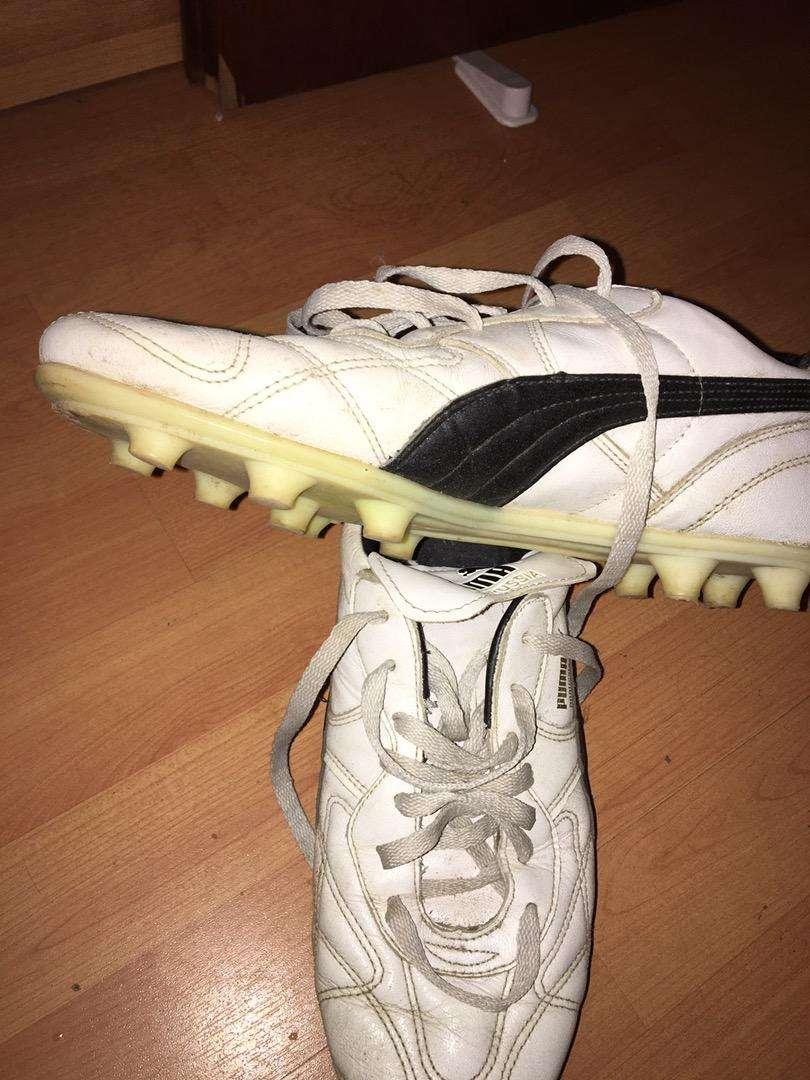 Botines PUMA Borussia blancos, CUERO UK10/US11/29cm. 0