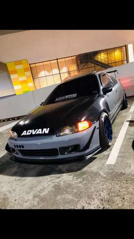 Honda civic 1995 coupe for sale!