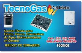 TÉCNICO DE ESTUFAS HORNOS CALENTADORES HALLENGER HACEB GAS NATURAL