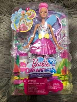 Barbie Muñeca Dreamtopia Hada Burbujas Magicas Mattel nueva