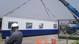 Venta de casa móviles en contenedores de 40 pies
