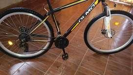 Vendo bicicleta mtb. Olmo Flash rodado 29.con 21 cambios