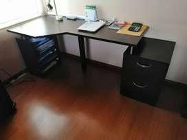 Venta novedoso escritorio para oficina (usado)