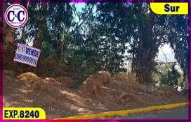 CxC Venta Terreno,  La Boloxi, Sur de Quito, Exp. 8240