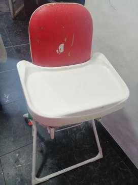 En venta silla comedor para bebé