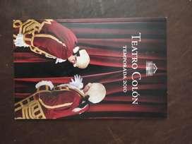 teatro colon temporada 2010 catalogo