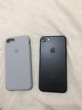 Remeto iphone7 negro mateee para alquiler