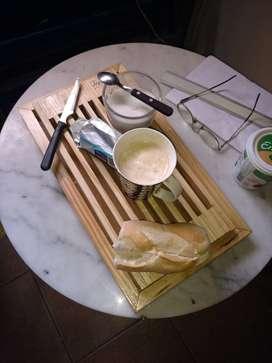 "cortador de pan en madera  "" BUR-ARTE2"