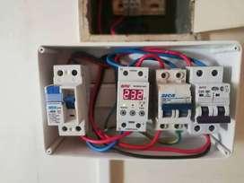 Electricista domiciliario y de pequeños negocios
