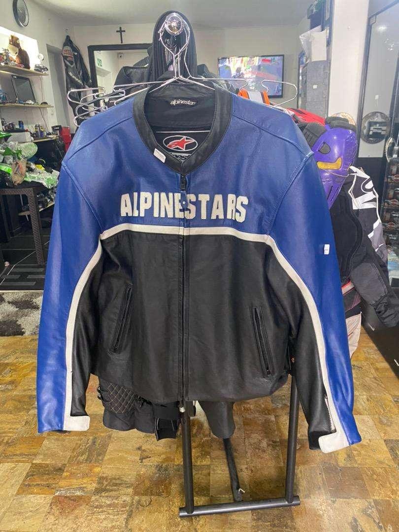 Alpinestars cuero talla L como nueva 0