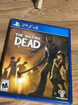 The walking dead juego de ps4