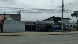 Machala . Via al puerto