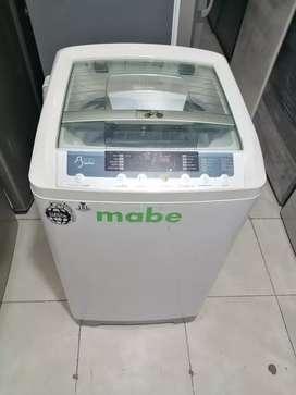 Lavadora 18 libras Mabe, digital, blanca original, precio fijo