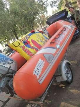 SEMIRRÍGIDO FISHURE 450 MOTOR SUZUKI 40 HP